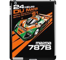 DU MANS Mazda iPad Case/Skin