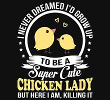 Super Cute Chicken Lady Women's Relaxed Fit T-Shirt
