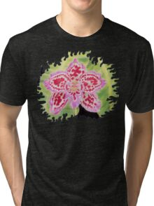 Finca Drac Orchid Tri-blend T-Shirt