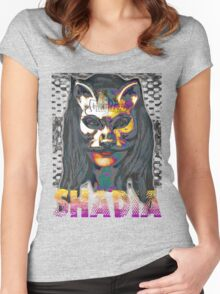 Shadia Women's Fitted Scoop T-Shirt