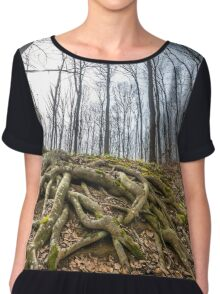Forest landscape Chiffon Top