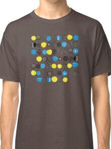 Black on blue Classic T-Shirt
