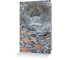 Gold fish Greeting Card