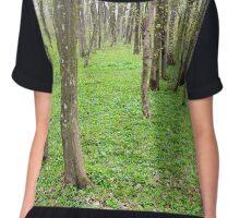 Hornbeam forest Chiffon Top
