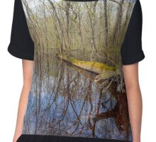 Forest in the swamp Chiffon Top