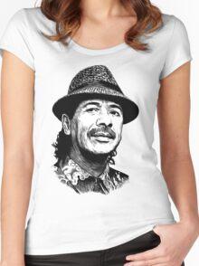 santana Women's Fitted Scoop T-Shirt