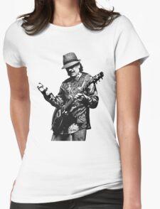 santana Womens Fitted T-Shirt