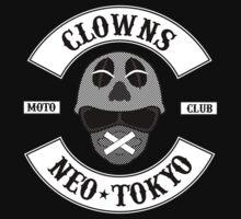 The Clown Motorcycle Club - Neo Tokyo (Akira) One Piece - Short Sleeve