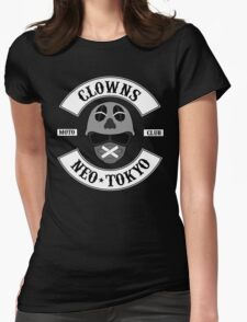 The Clown Motorcycle Club - Neo Tokyo (Akira) Womens Fitted T-Shirt