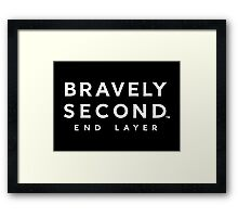 Bravely Second: End Layer Framed Print
