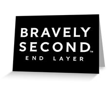 Bravely Second: End Layer Greeting Card