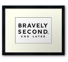 bravely second end layer Framed Print