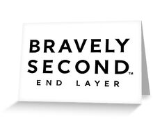 bravely second end layer Greeting Card