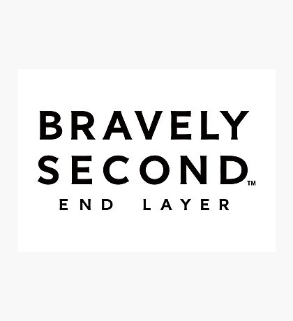 bravely second end layer Photographic Print