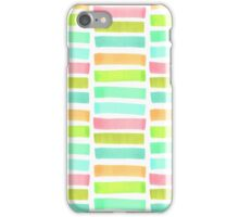 Сolorful geometrical abstract  pattern iPhone Case/Skin