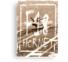 Carrier Hornet  Canvas Print