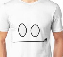 "Inanimate face -  ""Shocked"" Unisex T-Shirt"