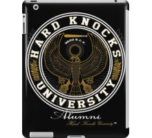 Hard Knocks University  iPad Case/Skin