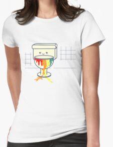 toilette-Arcoiris Womens Fitted T-Shirt