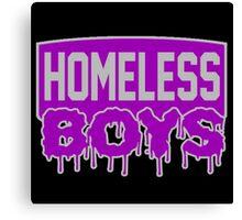 Homeless Boys Canvas Print
