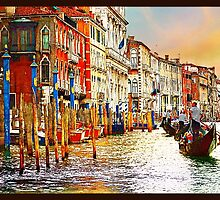 Painted Venice by amira