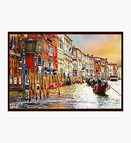 Painted Venice Photographic Print