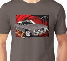 Aston Martin AM V8 from the Living Daylights Unisex T-Shirt
