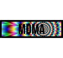 MDMA tie dye Photographic Print