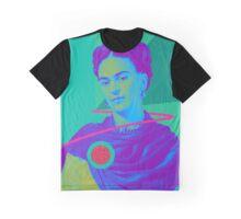Charming Frida Kahlo Graphic T-Shirt