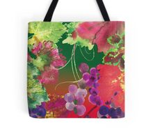vines and grapes Tote Bag