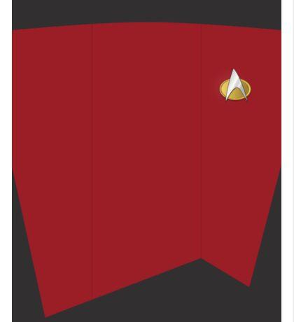 Screen Uniforms - Star Trek - The Next Generation - William Riker Sticker