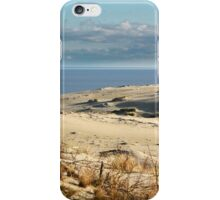 sand dune at the beach iPhone Case/Skin