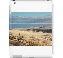 sand dune at the beach iPad Case/Skin