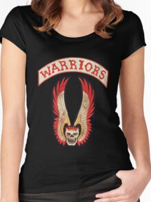 Warriors Women's Fitted Scoop T-Shirt
