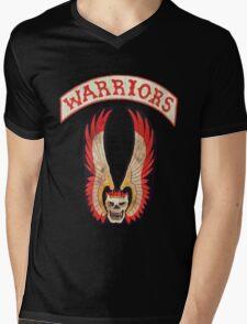 Warriors Mens V-Neck T-Shirt