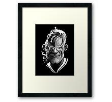 A Sailors Mind Framed Print
