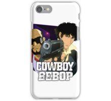 Spike Spiegel  and Jet Black  iPhone Case/Skin
