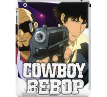 Spike Spiegel  and Jet Black  iPad Case/Skin