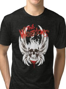The warriors skul Tri-blend T-Shirt
