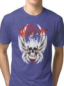 The warriors skul Tri-blend T-Shirt