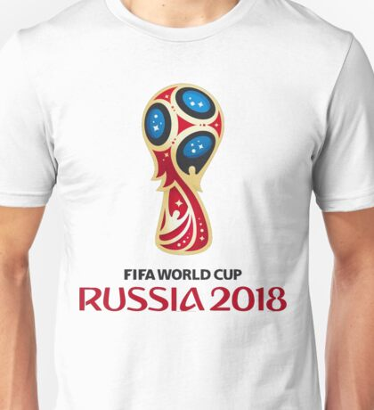 Russia 2018, Fifa World Cup Best Logo Unisex T-Shirt