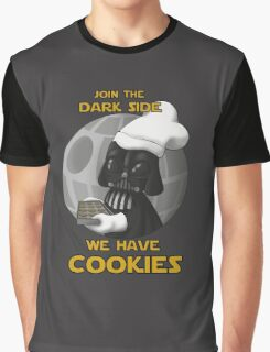 Star Wars - Dark Side has cookies! Graphic T-Shirt
