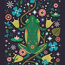 Botanical Frog  by CarlyWatts