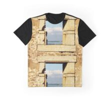 Ruin With A Sea View Graphic T-Shirt