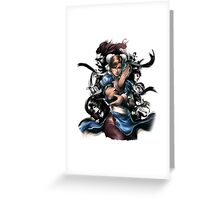 Fight Greeting Card