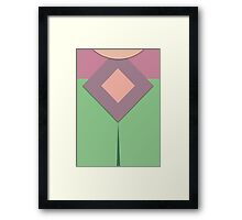 Screen Uniforms - Lost In Space - Penny Robinson -Style 2 Framed Print