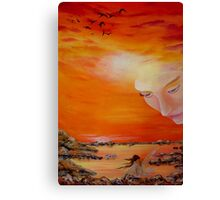Heavenly Protection Canvas Print