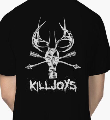 Killjoys.co Attack White Logo Classic T-Shirt