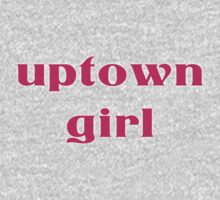 Uptown Girl T-Shirt One Piece - Short Sleeve