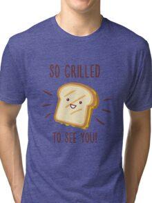 Cheesy Greetings! Tri-blend T-Shirt